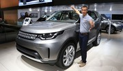 Land Rover Discovery 2017 : première escapade au Mondial