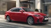 Lexus IS 300h restylée: à partir de 39990 €
