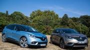 Derby familial Renault : Espace ou Grand Scenic… Lequel choisir ?