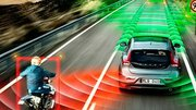 Sur 7 voitures autonomes, une seule évite l'obstacle soudain