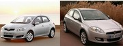 Toyota Auris vs Fiat Bravo : challengers en quête de reconnaissance