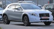 Le Mercedes GLA restylé 2017 surpris sur la route !