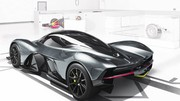 Aston Martin AM-RB 001 : un 0-320-0 km/h en 15 secondes