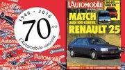 """Les 70 ans de """"L'Automobile Magazine"""" : mars 1984"""