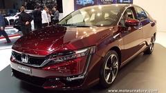 589 km d'autonomie pour la Honda à hydrogène