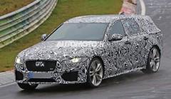 La future Jaguar XF Sportbrake 2017 surprise sur le Nürburgring !