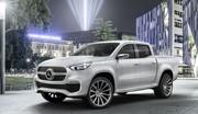 Mercedes Classe X Concept : pick-ups étoilés