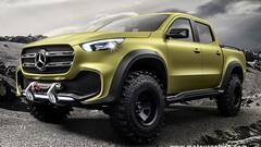 Pick-up Mercedes classe X : la mauvaise priorité