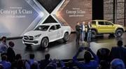 Le Mercedes-Benz Concept X-CLASS, le nouveau pick-up de Mercedes