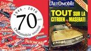"""Les 70 ans de """"L'Automobile Magazine"""" : Avril 1970"""