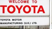 Brexit: Toyota n'achèvera pas son cheval de Troie