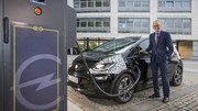 Opel : 30 minutes de recharge pour 150 km d'autonomie sur l'Ampera-e