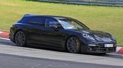 La Porsche Panamera break montre son aileron mobile