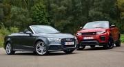 Essai Range Rover Evoque Convertible contre Audi A3 Cabriolet : l'été indien