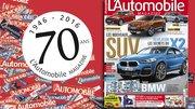 """""""L'Automobile Magazine"""" fête ses 70 ans dans son numéro 847"""