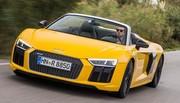 Essai Audi R8 Spyder : plus forte que la pluie ?