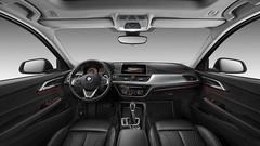 A bord de la BMW Série 1 Sedan