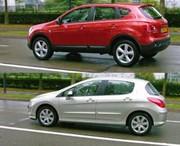 Essai Nissan Qashqai 1.5 dCi / Peugeot 308 1.6 HDi : Le dilemme