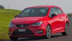 Essai Seat Ibiza Cupra: red bull