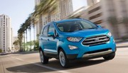 Ford EcoSport (2017) : style baroudeur et planche de bord revue