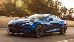 """Fidèle au V12 """"atmo"""", la nouvelle Aston Martin Vanquish S"""