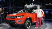 Nouvelle Jeep Compass (2017) : en vedette au salon de Los Angeles