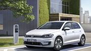 La e-Golf électrique, symbole du futur de Volkswagen