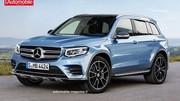 Compact mais familial, le futur Mercedes GLB