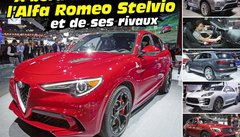 Alfa Romeo Stelvio : à bord du SUV italien et de ses concurrents