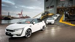 Honda : les Clarity Fuel Cell à hydrogène arrivent en Europe