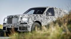 """Le futur SUV Rolls-Royce """"Cullinan"""" en route pour 2018"""