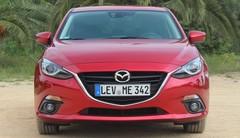 Essai Mazda 3 (2017) : profil bas