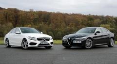 Essai Alfa Romeo Giulia vs Mercedes Classe C : renouveau ou classicisme ?