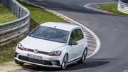Deux secondes de mieux pour la VW Golf GTI Clubsport S au Nürburgring