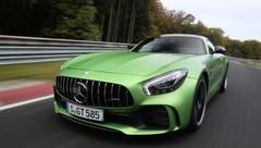 Mercedes AMG GT R : son record au Nürburgring en vidéo
