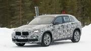 Le futur BMW X2 en classe de neige