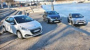 Les Citroën C3, Peugeot 208 et Renault Clio s'affrontent. Qui sera la meilleure ?