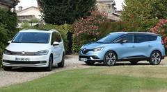 Essai Renault Grand Scenic 4 vs Volkswagen Touran : Le style ou le volume ?