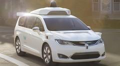 La voiture autonome selon Google : une Chrysler pour Waymo