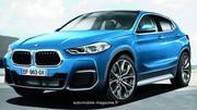 En approche, le SUV-coupé BMW X2