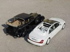 Maybach 62 Landaulet : version Double-Face