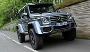 Essai Mercedes G 500 4X4² : Le poing G