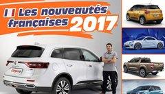 Nouveautés 2017 : toutes les nouvelles voitures françaises