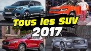 Nouveaux SUV 2017 : découvrez toutes les nouveautés de l'année
