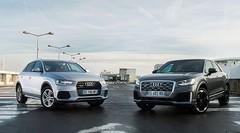 Essai Audi Q2 vs Q3 : comparatif des SUV aux anneaux