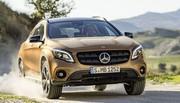 Mercedes GLA : restylage à Detroit