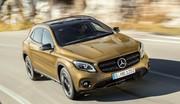 Salon de Detroit 2017 : Le Mercedes GLA restylé