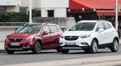 Essai : L'Opel Mokka X 2017 affronte le Peugeot 2008