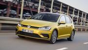 Volkswagen Golf restylée 2017 : les tarifs à partir de 19.060 euros