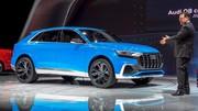A Detroit, l'Audi Q8 Concept hybride annonce un coupé SUV anti-X6